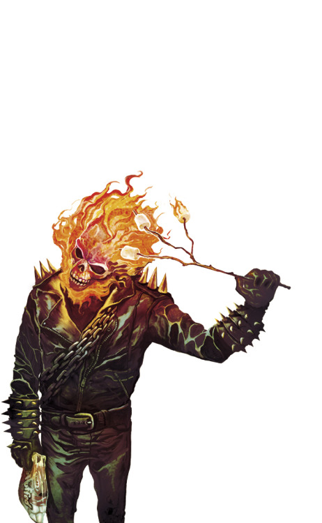 patientcomicaddict:  GHOST RIDER by Deadly Mike