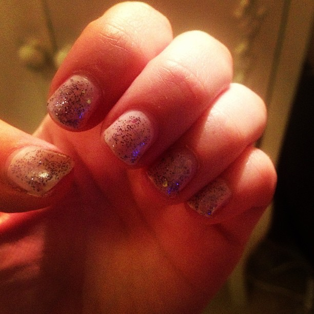 New nail varnish glitter from one of my fave Grrrls @__hannahjoy
