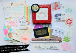 letter-pressed:  Yay! Giveaway!  What you can win: - A set of Studio on Fire letterpressed coasters - Two letterpress-themed pencils, including Hammerpress and Thimblepress.  - A bunch of letterpress business cards (Look at that amazing hand!), tokens, a Rifle Paper ruler and a Sugarcube Press Coaster.   Here's the details: - You can like and reblog this post once, that counts as two entries.  - This is a follower-only giveaway, so you must be following Letter-pressed.tumblr.com in order to enter and win. - This is an international giveaway- anyone can enter! - Shipping will be payed for by me.  Any questions? Message me!  Good luck!  So great!