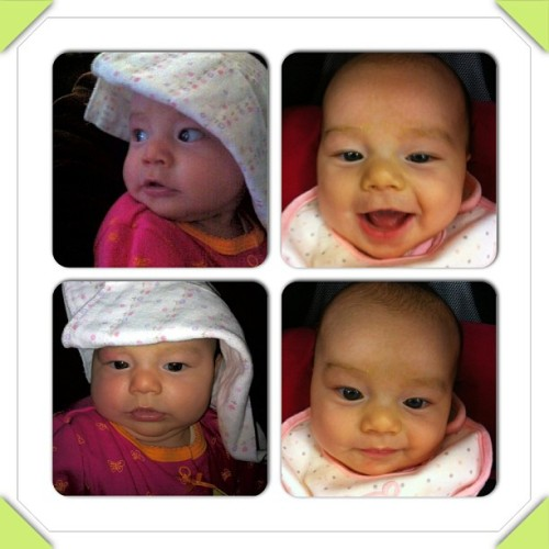 Silly baby. #instacollage