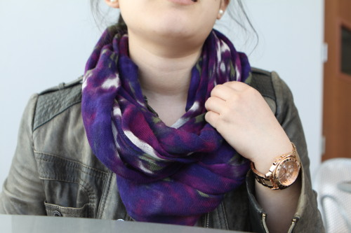 Scarves and statement watches, two Clara Classics.  Check out http://scu-sartorial.tumblr.com/ - Samir Khanna
