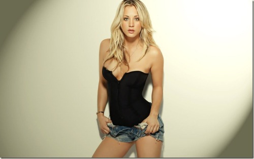 taswesty:  Kaley Cuoco