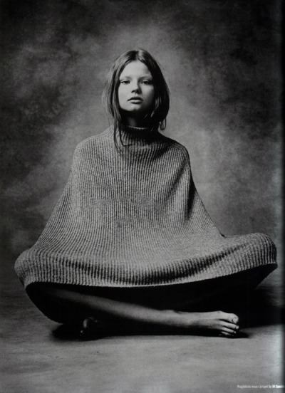 balenciwanga:  Magdalena Frackowiak for Dazed & Confused August 2007
