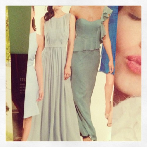 #bellestylebridal #bridesmaid #inspiration #maxi #dress #sage #dreamy #greens #gradient #destination  (at bellestyle.onsugar.com)