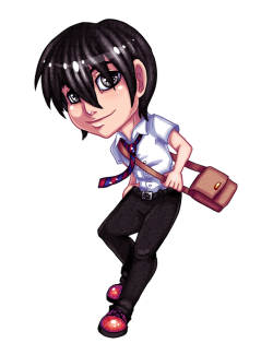 touchedvenus:  Commission - Chibi Daichi by `TouchedVenus