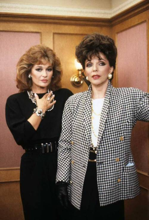 Stephanie Beacham & Joan Collins