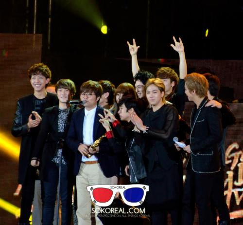 [PICS] 130115 FNC Family @ Golden Disk Awards  © soKoreal *DO NOT REMOVE OR EDIT WATERMARKED *