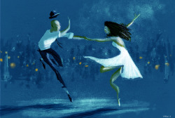 pascalcampion:  Blue Dance.Today, I just felt like I wanted to do something completely different. Does this ever happen to you? and how often do you act on it? a lot of times,I just think I am going to do something different but I don't… mostly because I am afraid of failing at it.