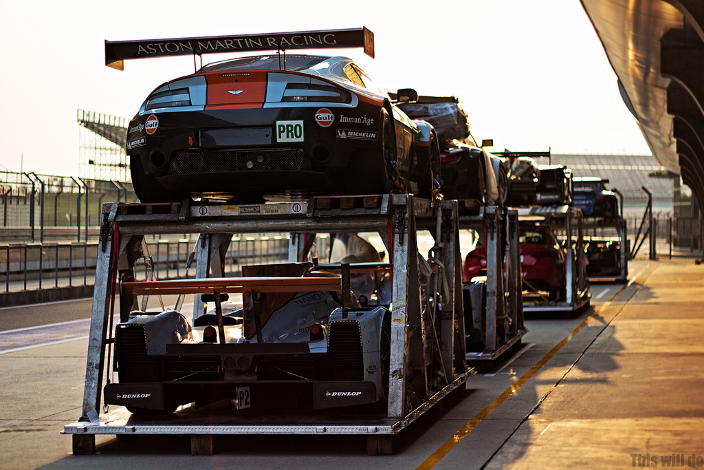 Aston Martin Le Mans racers at Sunset Image by This Will Do (via:itracing)