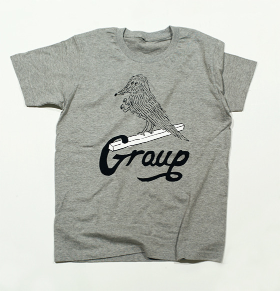 group_inou / Group T-shirt (gray)