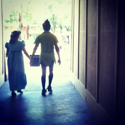 disneyprincess10:  shelbyw200:  💙💚✨#peterpan #wendydarling  you know what would be awesome? If this was Hali and Andrew.