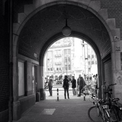 #amsterdam #people #bikes #black #white #photography  #throwbackthursday