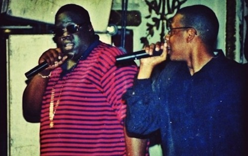 flightofficial:  [ Jay-Z and The Notorious B.I.G., 1996 ]