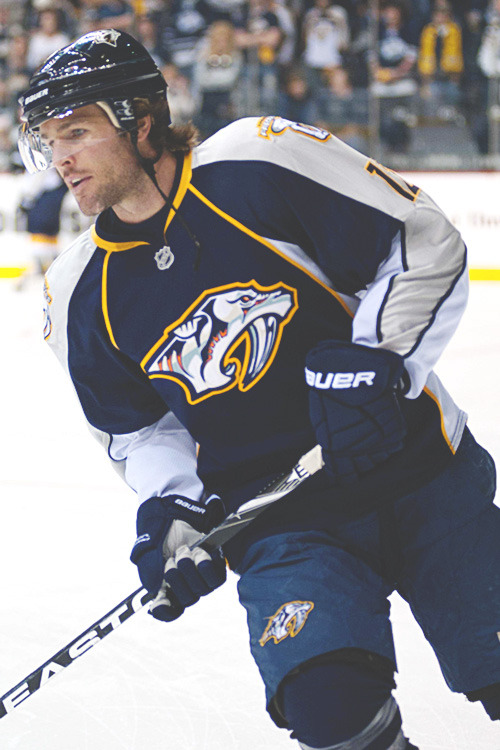 futuresaad:  a favorite from each team; 16 of 30 - Nashville Predators//Mike Fisher