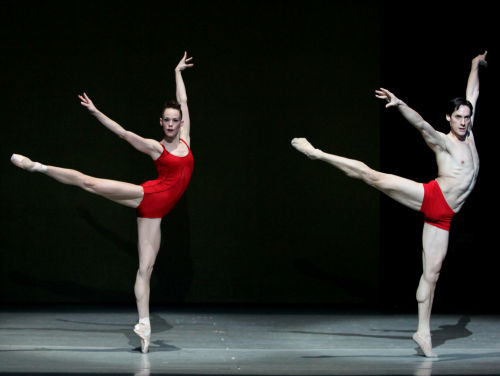 Lara O'Brien and Marcelo Martinez in Rite of Spring