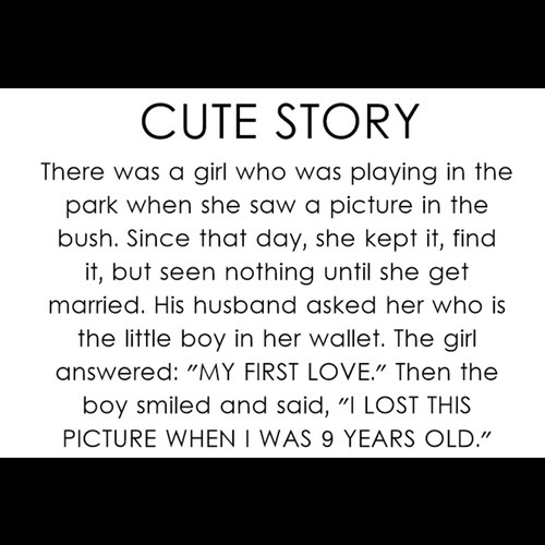 This story is really cute :3