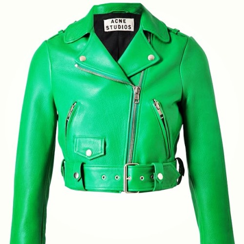 My dream leather jacket 😭😭😭😭😭 💚💚💚💚💚💚 someone give me £1000 please