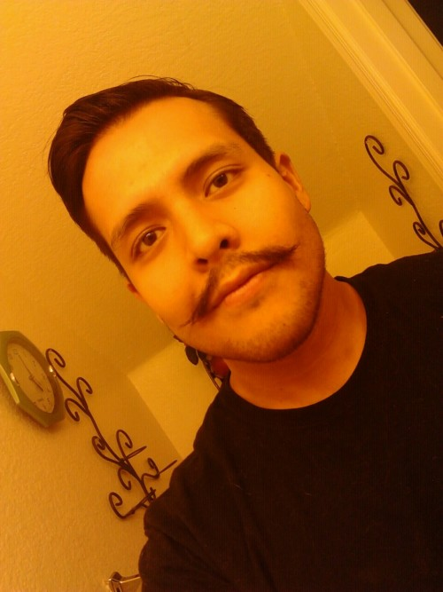 Glad to see the stache is growing back nicely :3