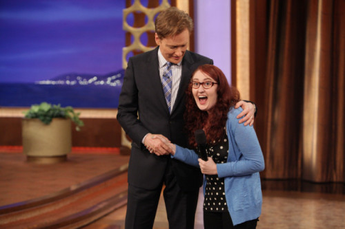 This is from teamcoco.com and I just saw it today!! What a great picture!