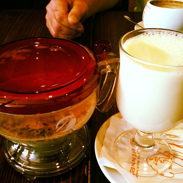 #WhiteChocolateChai  (at Max Brenner Chocolate Bar)