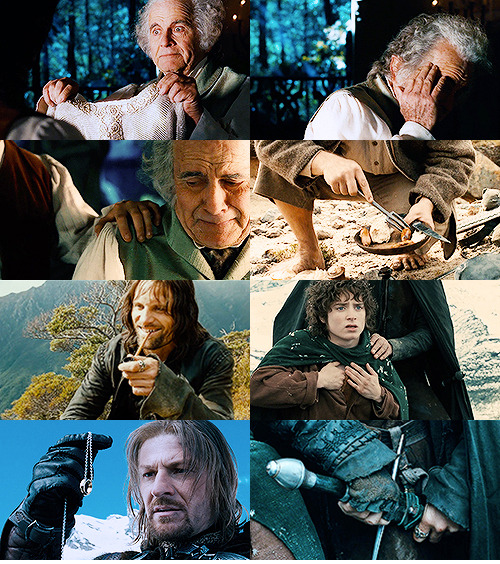 the-writers-ramblings:  Lord of the Rings → hands    ↳The Fellowship of the Ring | part 3