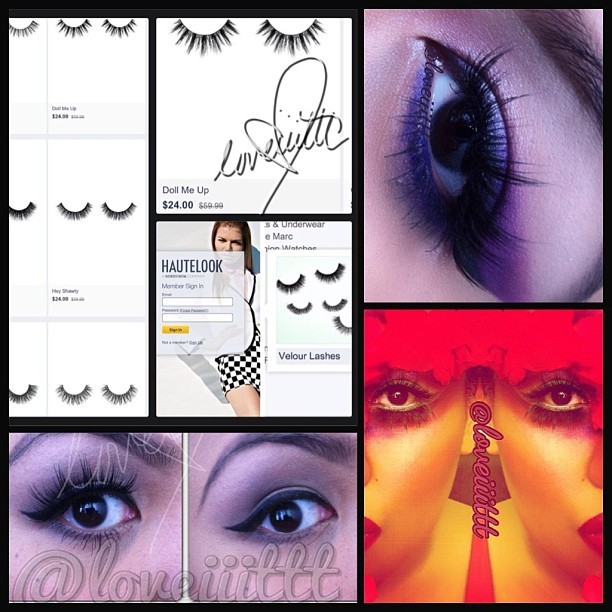 "So you know the ""Doll Me Up"" #VelourLashes that I wore in these pics, that YOU ALL LOVED…wellllll mahhh loverrrs…they are on #HauteLook right now for 40-50% off!! So if you're wanting to cop a pair, now is the time! 🙌🙌🙌🙌👍💁❤❤  #minklashes#falsies#lovethedollmeup#lashes"