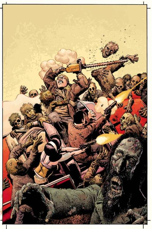Living With The Dead Art by Richard Corben