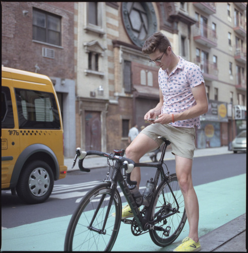 If you ride a bike and wear clothes you have probably heard of the new H&M x Brick Lane Bikes collaboration (if you havent catch up here). As a man who likes clothes and loves bikes I was stoked when they reached out to me to have me help spread the word and give away some pieces from the line. All you have to do is tag an Instagram photo of you and your bikes with #HMBikeStyle by Friday and 5 dudes will win some new threads.  Now grab a camera, finds some tailwinds and show us your bike style.