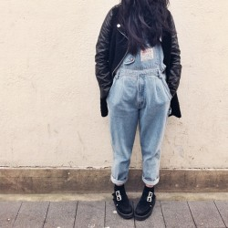 #oodt #dungarees #creepers #zara #fashion #instafashion #outfit #vintage