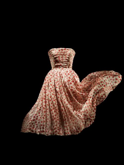 """Rose Pompom"" by Dior, spring/summer 1952 From the Musee Christian Dior"