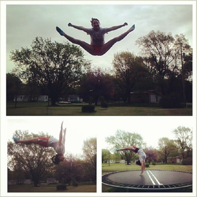 Tumbling! #bestfriend