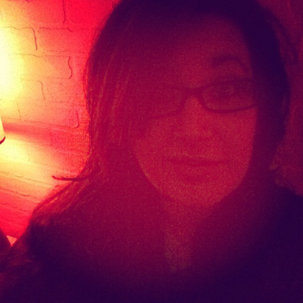 #lastnight #random #selfie #lighting #abstract #red #memyselfandi #bar #ladiesnight #gawg #beautiful #heygirl