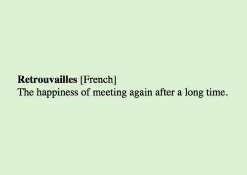 appealingtrust:  Retrouvailles [French] The happiness of meeting again after a long time