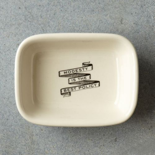 Modesty Soap Dish | west elm