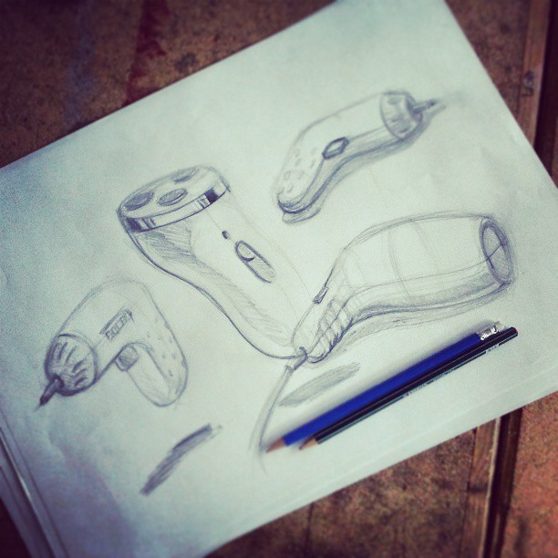 Back to the basics… #sketch #design #BoazZemerDesign