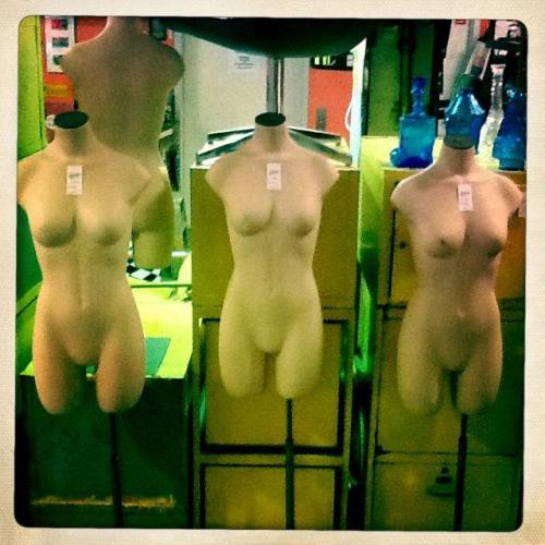 Mannequins $45.00 each http://on.fb.me/Xc2pY2