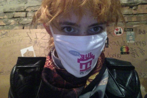 actuallygrimes:  festival sponsored anti-pollution mask