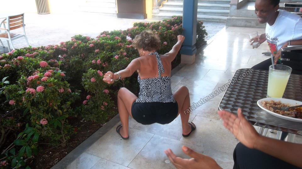 whose granny is leader of the twerk team?