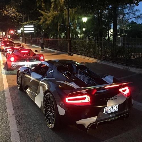 Porsche 911 Night camo super cars sports cars cars mine me