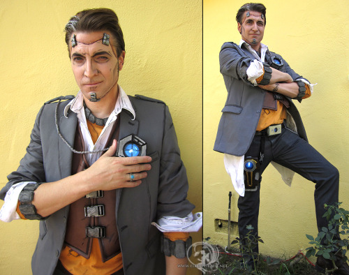 rmsk8r05:  Handsome Jack Borderlands 2 by *Lillyxandra