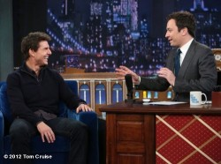 tomcruise:  Missed Tom's & Jimmy Fallon's EPIC WATER WAR on Late Night and don't know who won?…its pure H20 AWESOMENESS 4U! http://clicky.me/TomCruiseJimmyFallonWaterWar -TeamTC View more Tom Cruise on WhoSay   i saw it!!! it was amazing.