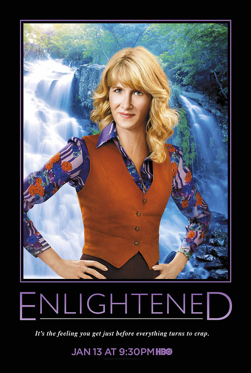 "huffposttv:  Here's some exclusive ""Enlightened"" key art to make your Friday better. More here."