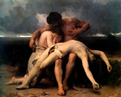artedelotus:  Bouguereau, William Adolphe -The First Mourning