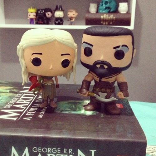I finally found your Khaleesi, Khal! Hahah 🌋#gameofthrones #khal #dany #targaryen #khaleesi