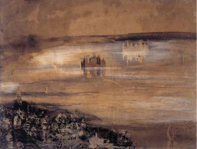 Victor Hugo - City by the Lake. 1850