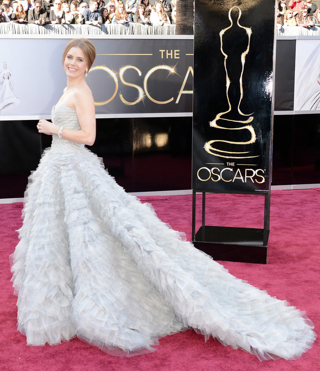 Amy Adams in Oscar de la Renta - 2013 Oscars, February 24th 2013