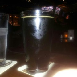 Football and coconut porter from Hawaii at yardhouse. #nfl #yardhouse #beer