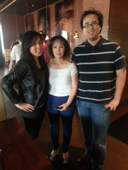 2013 Mother's Day!! We wanted to take our mom to TRIO, but we ended up going to our old stomping grounds.