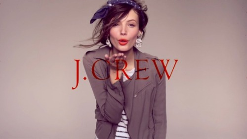 Mona Johannesson for J. Crew (June 2010)