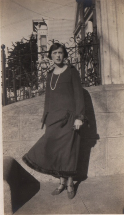 Lady Dressed Up and Wearing Cute Shoes (1930s) (by addie65)